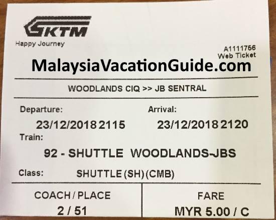 Ktm Or Keretapi Tanah Melayu Train Schedule