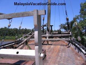 Boat At Terengganu State Museum