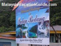 Redang Island Signage