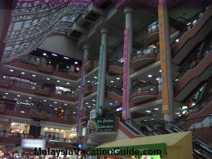 Interior of The Mall Kuala Lumpur