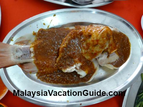 Aik Khoon Restaurant Tilapia Fish