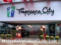Tropicana City Mall Entrance