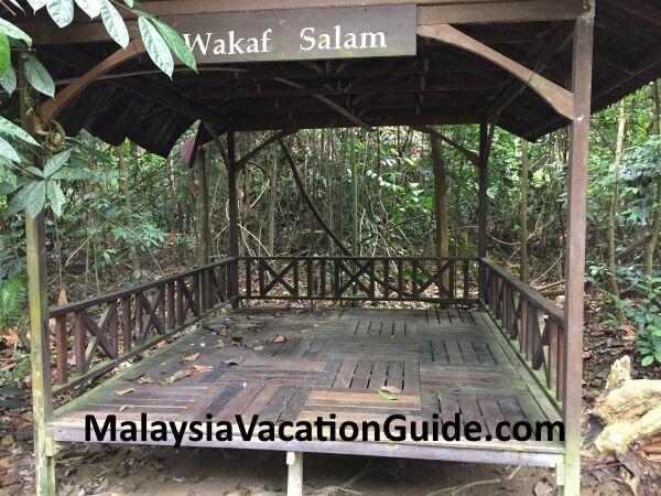 Wakaf Salam at Kota Damansara Community Forest