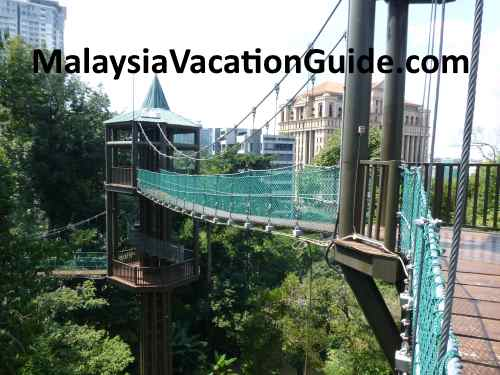 KL Forest Eco Park Canopy Walk.