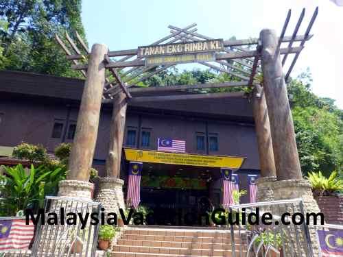 Taman Eco Rimba KL information centre.