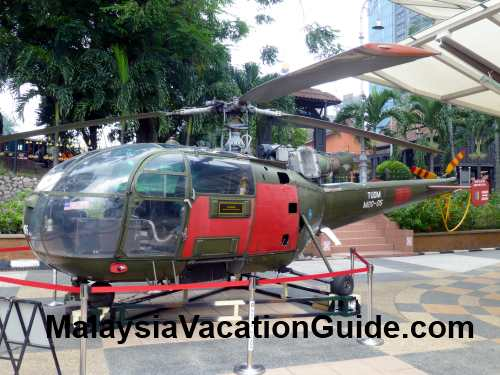 Royal Malaysia Air Force Helicopter
