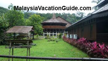 The Bidayuh Longhouse