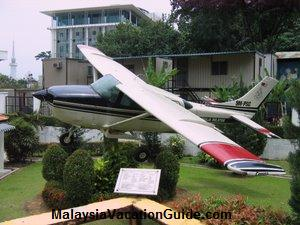 Cessna Plane Royal Malaysia Police Museum