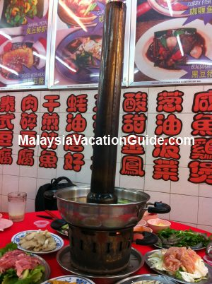 Charcoal Steamboat Brinchang