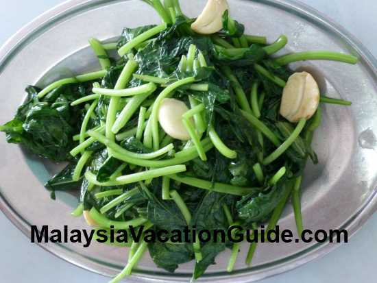Dengkil Yew Hin Sweet Potato Leaves