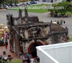 Fort Santiago Malacca