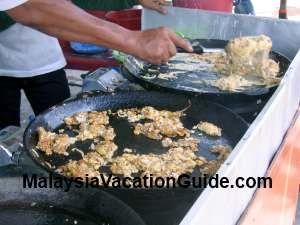 Pulau Ketam Fried Egg With Oyster