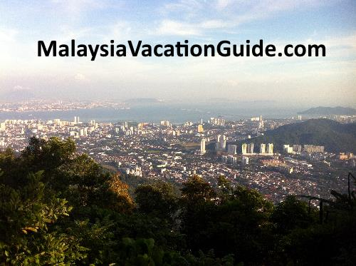 Georgetown from Penang Hill.