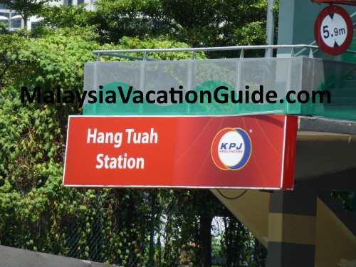 Hang Tuah Station
