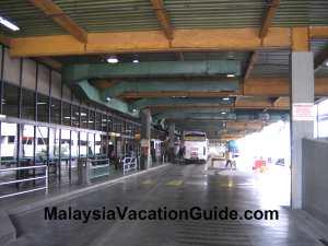Hentian Putra Bus Terminal Platform