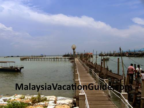 Penang National Park Jetty