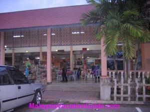 Kemasik Beach Shops