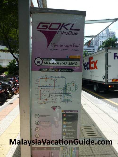 Menara Hap Seng Bus Station.