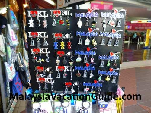 KL Tower souvenirs.