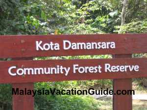 Kota Damansara Community Forest Reserve