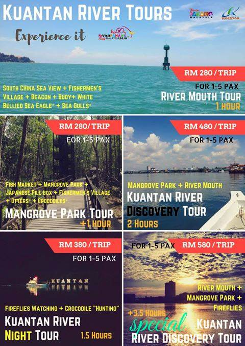 Kuantan River Tours Cruises Packages
