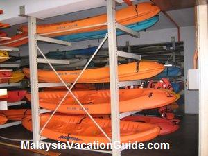 Putrajaya Lake Club Kayaks