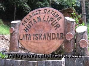 Lata Iskandar Signage