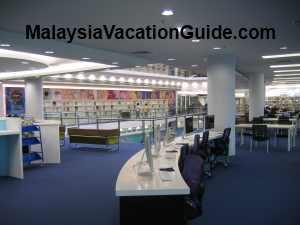 The Spacious Raja Tun Uda Library