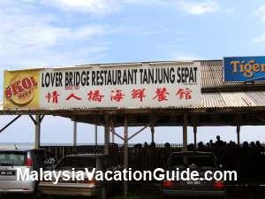 Lover Bridge Restaurant Tanjung Sepat