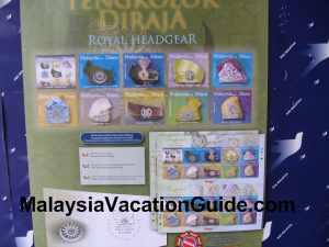 Malaysia Royal Headgear Stamps