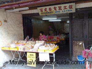 Melaka traditional delicacies