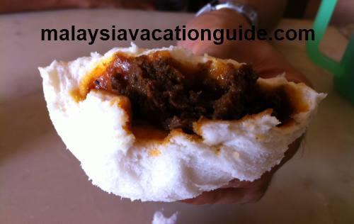 Curry chicken bun Yik Mun Restaurant