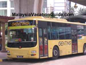 Genting Highland Bus From Hentian Pekeliling Bus Terminal