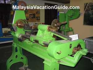 Johor Pineapple Museum Coring Machine