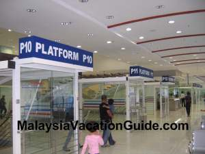 Pudu Sentral Platforms