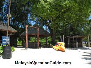 Pulau Beras Basah Banana Boat