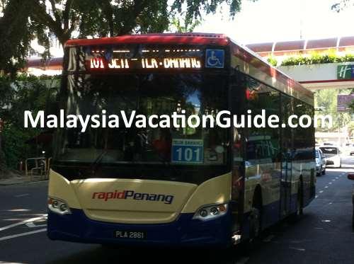Rapid Penang Bus No 101
