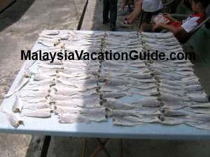 Pulau Ketam Salted Fish