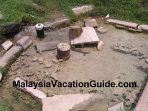 Selayang Hot Spring Water From The Ground