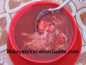 Red Wine Mee Suah