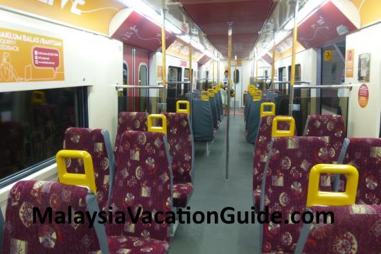 Skypark Link Train Seats