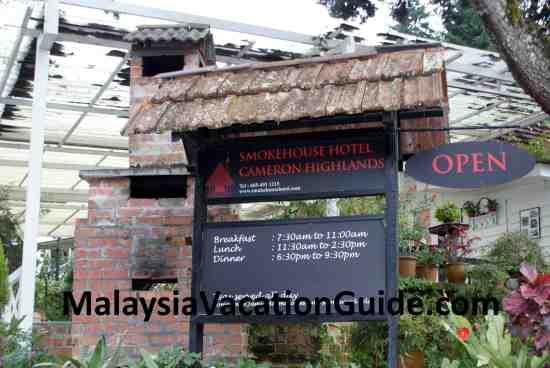 Smokehouse Tudor-style hotel Tanah Rata