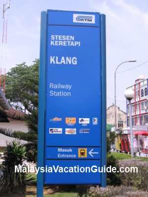 Klang Railway Signage