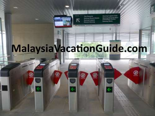 Sunway BRT Automated Gate System
