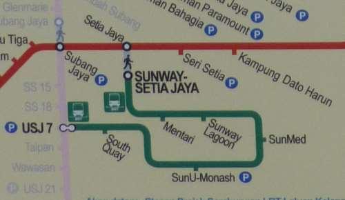 Sunway BRT Stations
