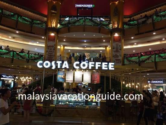 Sunway Pyramid Costa Coffee