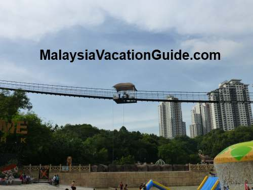 Sunway Lagoon Hanging Bridge