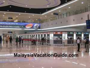 Tasik Selatan Terminal Foyer