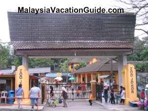 Johor Zoo Entrance